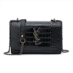 Handbagヨーロッパ式の流行の本物のCroco PUの革良質の女性