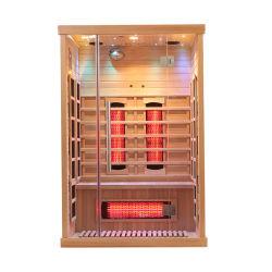 Spettro completo portatile popolare dell'interno della nuova casa di stile 2020 mini ed Infrared basso di sauna di Infrared lontano di FME della fibra del carbonio da vendere