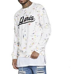 Il cotone degli uomini stampato intorno alle magliette 2020new del collo all'ingrosso adatta a manicotto lungo degli uomini le camice casuali