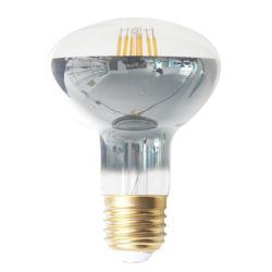Retro Reflector Silver Plated Housing 필라멘트 전구 R63 R80 R95 2W 4W E27 LED 필라멘트 전구