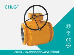API/API6d/API608 Cast/forgée en acier inoxydable/Ss le flottement/Variable/types/de tourillon Dbb électrique/pneumatique pétrole/gaz industriel/alésage complet de l'eau/Port 3 pièces de clapet à bille