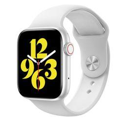 Nk03 1.72 polegadas Resolução frequência cardíaca pressão detecção de oxigénio no sangue Smartwatch com ecrã de toque completo