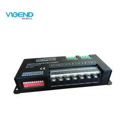 Regolatore del decodificatore 8A*4CH LED DMX di DMX512/Rdm RGBW