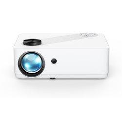 Залогом P3 домашнего кинотеатра портативные HiFi с двумя динамиками мультимедийные 6000 лм Micro Full HD проектор