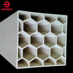 熱Resisitanceの陶磁器の蜜蜂の巣のための大きいチャネル