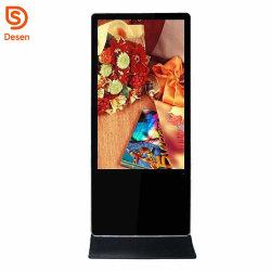 Support de plancher de la publicité de 42 pouces écran LCD avec écran WiFi