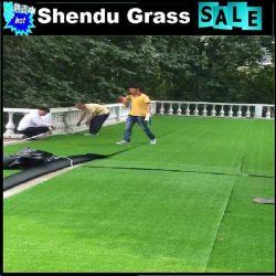 Hotsale baratos de buena calidad en el césped de hierba de césped artificial para jardines