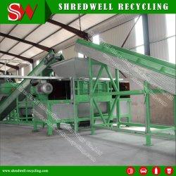 Los residuos de la máquina de reciclaje de metal para purgar por autos antiguos/motor