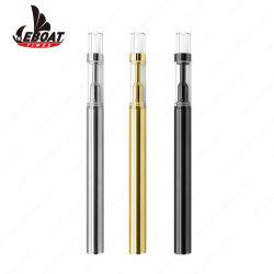 Venda por grosso de caneta Vape Cdb Eboat Ó2 Cdb Vape personalizar a cor do óleo muito vidro dos vapores de gasolina do tubo metálico do Tanque Vape descartáveis cigarros Electrónicos de caneta