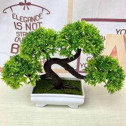 Decoracion interiores Mini Planta Bonsai Árbol artificial para el Festival