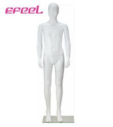 De PP de plástico branco brilhante manequim adolescente Size 155cm para exibir