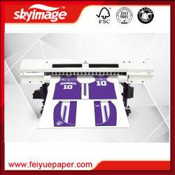 Imprimante jet d'encre grand format Sublimation double tête d'impression pour les textiles de 1,8 m