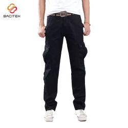 Commerce de gros travail occasionnel pantalon en coton d'usure de façon personnalisée hommes loisirs pantalon cargo tactiques
