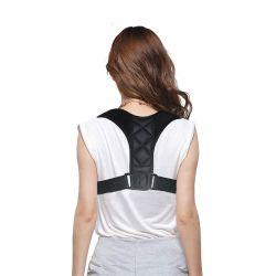 2019通気性のネオプレンの甲革の背部ポスチャの校正者の取り外し可能な脇の下のパッドとの調節可能な鎖骨ベルトの肩の苦痛救助