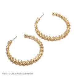 여자 둥근 Eardrop 결혼식 귀걸이 형식 보석 선물