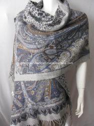 De klassieke Doule Onder ogen gezien Dierlijke Sjaals van Paisley van Af:drukken