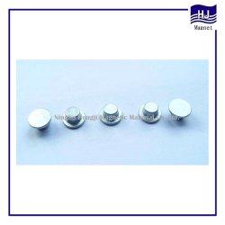 Chapéu especial forma de pastilhas do cilindro de magneto de neodímio de NdFeB