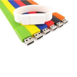 Оптовая торговля мода пользовательские силиконовый браслет браслет флэш-накопитель USB 2 ГБ 8 ГБ 4 ГБ 16ГБ 64ГБ Логотип привода пера
