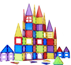 [سرتيفيكتس] [س] [أستم] أطفال لعب لون واضحة مغنطيسيّة تربويّ بناية قوارب لعب