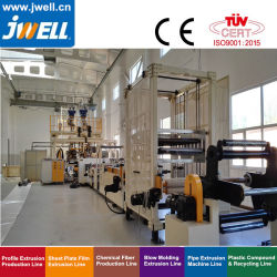 Jwell Pet Twin Screw Extruder /Dyer-Free Vented Pet Sheet Production Extrusion Line 또는 Extrusion Machine/Extruder/Extrusion
