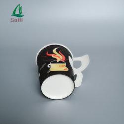 Новая конструкция одноразовые ЭКО-печати логотип горячего кофе бамбуковые волокна колебания обои для приготовления чая и воды