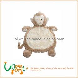 Cartoon Animal warm Fleece Blanket pluche Baby Cushion Pillow