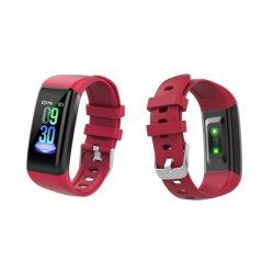 """Einfacher USB, der Smartwatch 1.14 """" HD grosse IPS LCD Puls-Monitor-Gesundheits-Armbanduhr IP67 auflädt, imprägniern im Freiensport Bluetooth intelligente Uhr"""