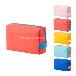 Mini Brush set cosmético bolsas Funda de cuero de PU