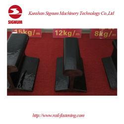 중국 기준 GB2585-2007 8kg 12kg 15kg 22kg 30kg 38kg Qu70 Qu80 Qu100 Qu120 강철 가벼운 무거운 기중기 광산 가로장
