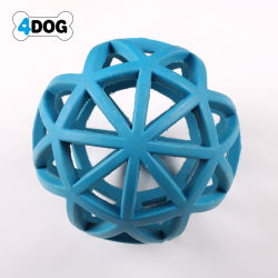 A borracha macia Chew brinquedo para cão