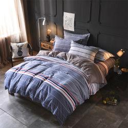 Drap de lit en polyester classique Housse de couette literie de gros de définir le linge de lit 4PCS/Set