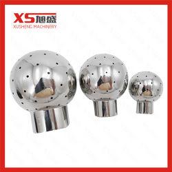 La saldatura igienica del grado conclude la sfera fissa dello spruzzo con acciaio inossidabile 304