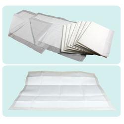 10PCS um Pack 60cm*90cm FDA Cuidados Médicos antibacteriano titulados colchão Underpads