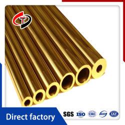 Tubo de latón C10500 C72650 C14500 C10200 C19700 espiral de cobre