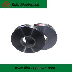 4.5 pellicola di poliestere metallizzata alluminio del micron MPET per uso del condensatore
