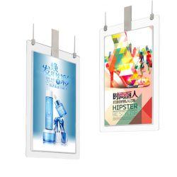 Heißer verkaufenhängender doppelter mit Seiten versehener LCD-Bildschirm-ultra dünner bekanntmachender Videodarstellung-Spieler