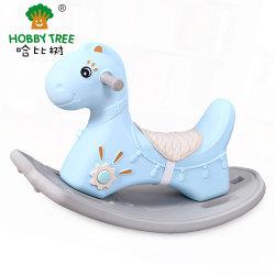 Liebhaberei-Baum-neues Plastikkind-Einhorn-Form-Schwingpferden-Spielzeug für Kinder