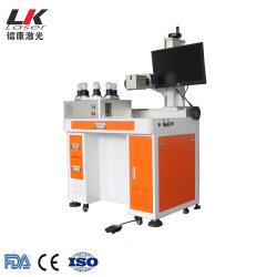 Lâmpada de luz de LED de plástico/metal máquina de impressão a laser de logotipo de Fibra Óptica Preço máquina de marcação a laser