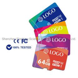 Codice categoria 10 della stampa 64GB 128GB del dispersore di colore della scheda di TF della scheda di memoria di rendimento elevato