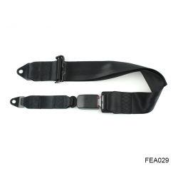 Fea029 أوروبا البعيدة 3 بوصة 75 مم حزام الحوض البسيط ثابت حزام الأمان