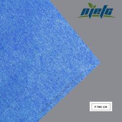 Bleu royal mat de fibre de verre ou de tissus de polyester de l'usine