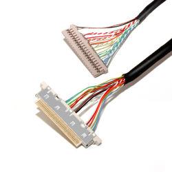 Verkäufer-Motorpumpe-Hersteller Lvds Kabel 20454-050t I-Pex MinikoaxialLvds kabelt Kabel triebwerkgetriebene Motorpumpe50 Pin-LCD