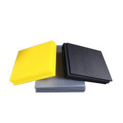 Kundenspezifisches Blatt Coroplast Blatt der Größen-weißes pp. hohles