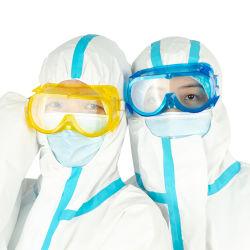 مواد الحيوانات الأليفة عالية الجودة نظارات واقية من الضباب لا يمكن التخلص منها نظارات طبية للاستخدام في المستشفيات والطبية