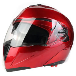 2020 DOT aprovado capacete de motocicleta capacete retrátil
