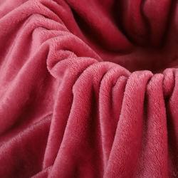 Flanell 100 Polyester Fleece Stoff für Decke Bettwäsche Set