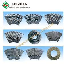 Heat-Resistant disco refinador las planchas de pasta de papel maquinaria equipo