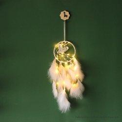Nouveau papillon blanc Dream Catcher Wind-Bell pendaison ornements filles Décoration cadeau d'anniversaire de la télécommande
