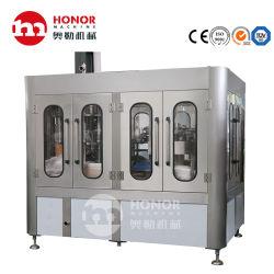Automatisches Dreh2000bph 4000bph 6000bph Haustier-Glasflaschen-Saft-Getränk karbonisierte Soda-Getränk-Saft-reines Wasser-füllende beschriftenverpackungsmaschine/Gerät