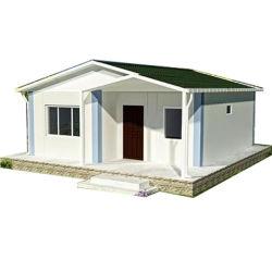 Casa prefabricada de bajo costo de China Casa prefabricada de acero ligero modulada móvil modulada prefabricada